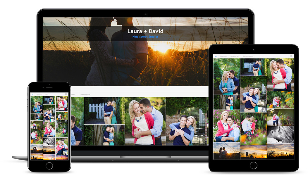pixrit showcasing photography galleries mobile and tablet optimized