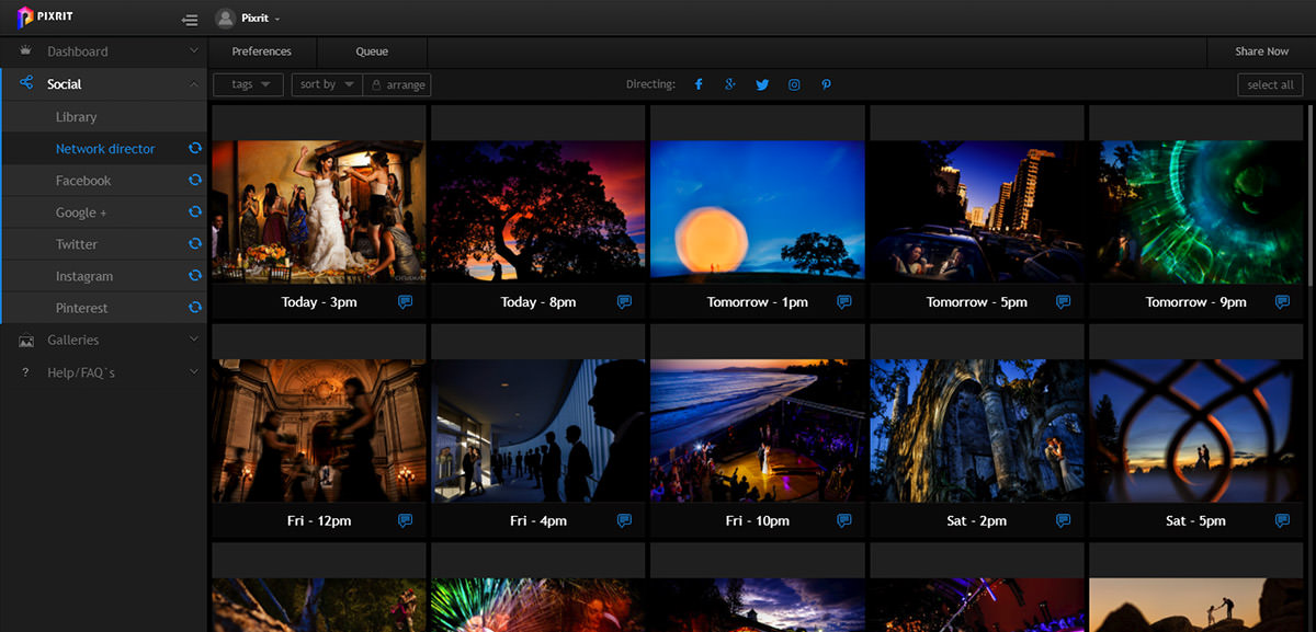 quickstart guide to pixrit the ultimate social media manager for photographers - let pixrit handle your social