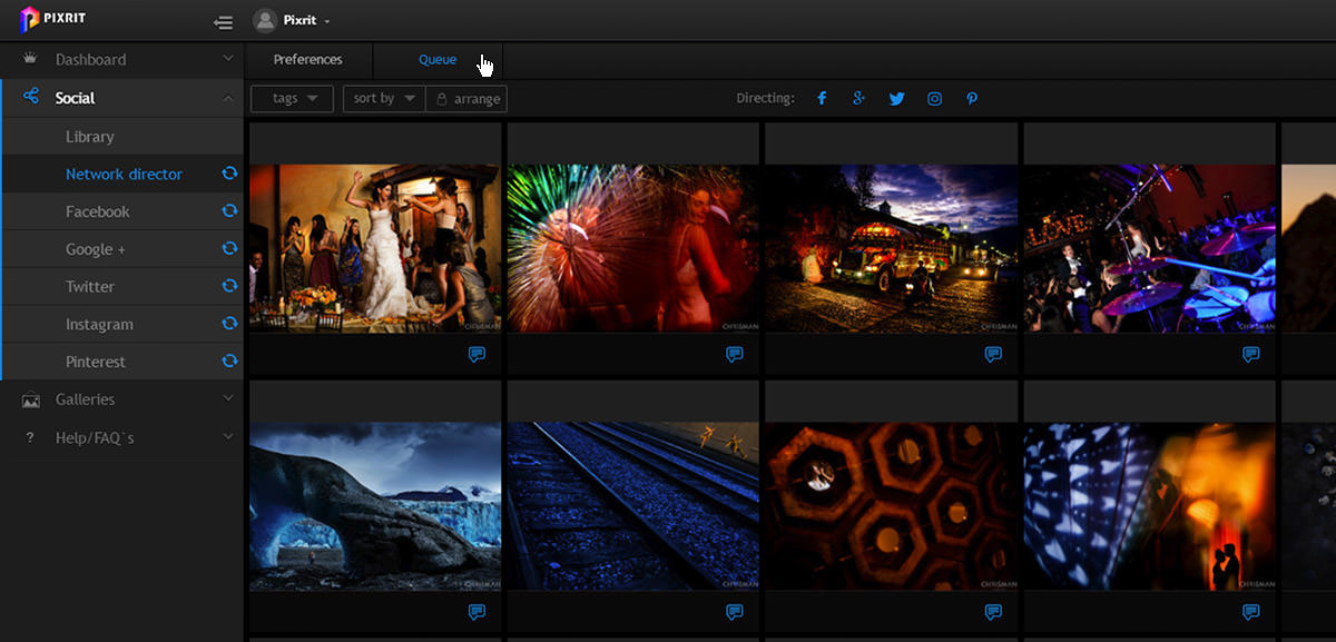 quickstart guide to pixrit the ultimate social media manager for photographers - network director