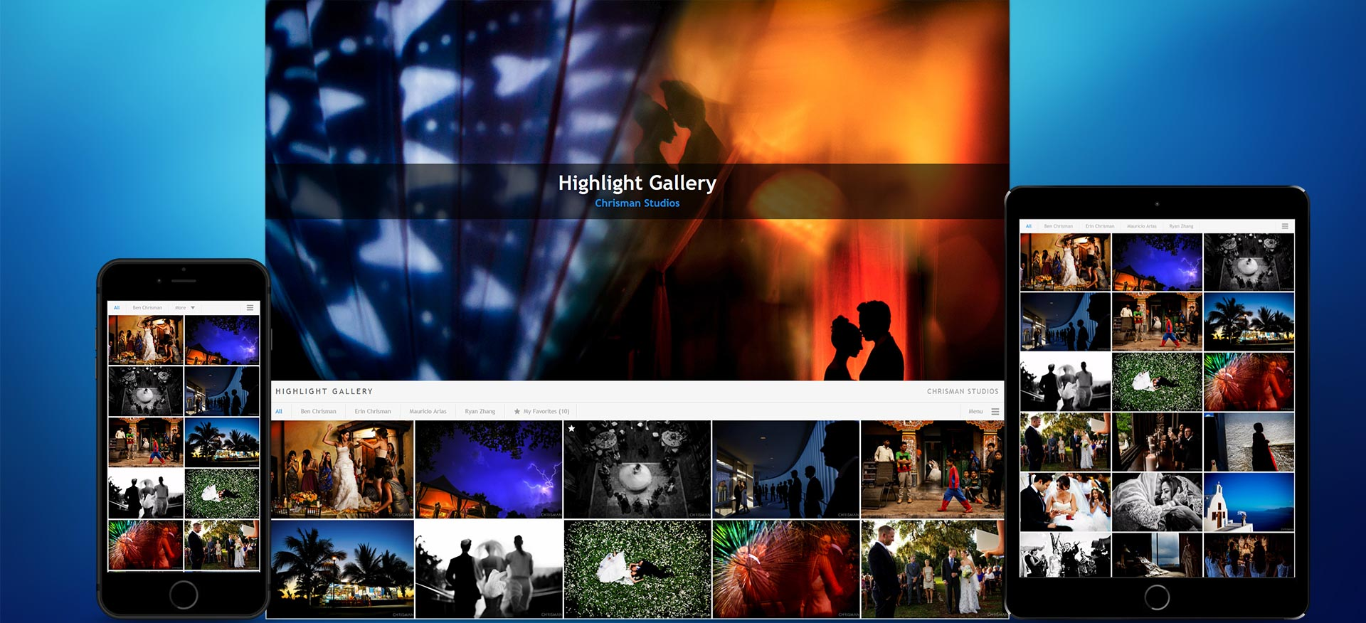 pixrit beautiful showcasing galleries and social media management