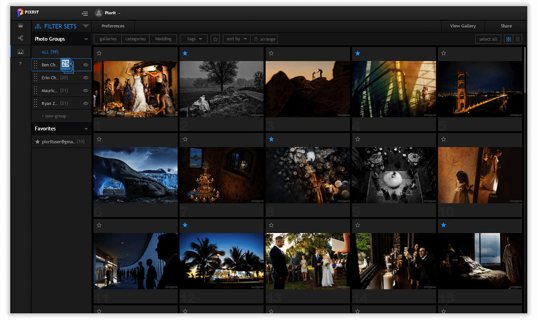 pixrit professional online photo galleries for managing and presenting visual content
