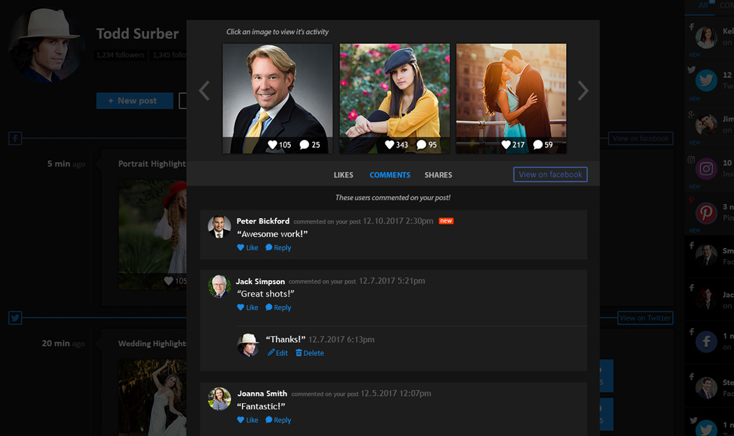 pixrit social media manager for visual content coming soon features social manager