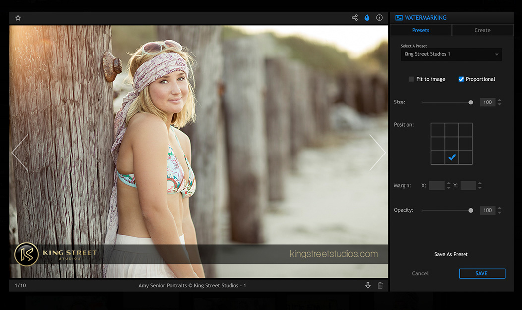 pixrit social media manager for visual content coming soon features watermarking
