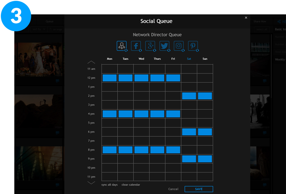 pixrit the fastest and easiest social media scheduler for auto sharing visual content set your schedule
